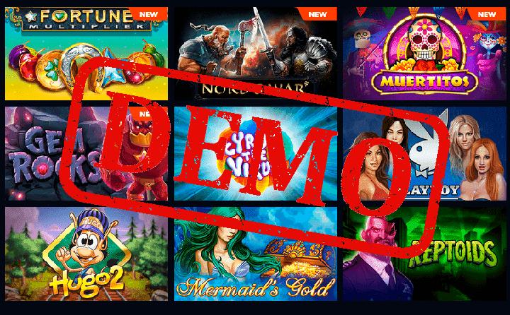 Демо-игры казино: играй бесплатно без регистрации