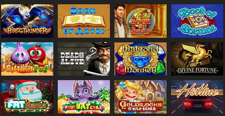 Игровые автоматы онлайн: выбирай лучшие игры