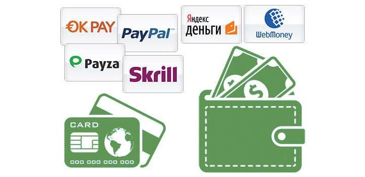 Платежные системы для игры в казино
