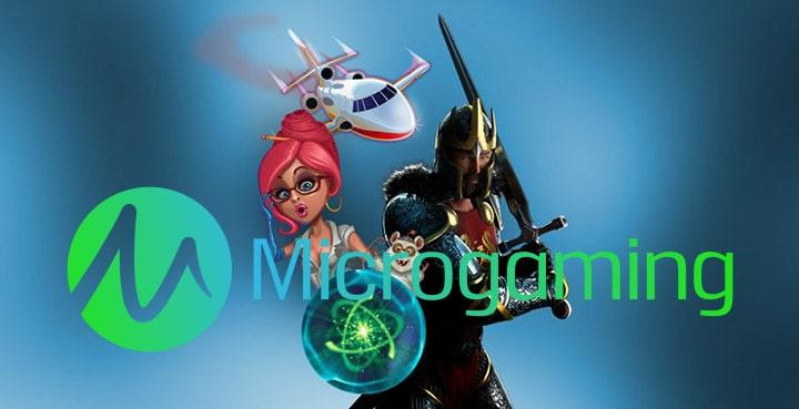 Производители игровых слотов: Microgaming